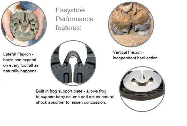Easy Shoe Performance Nail / Glue, Maat 1, per paar-6439